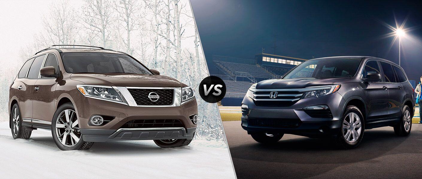 2016 Nissan Pathfinder vs 2016 Honda Pilot
