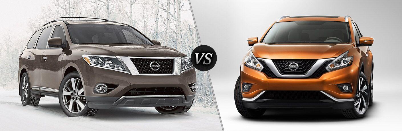 2016 Nissan Pathfinder vs 2016 Nissan Murano