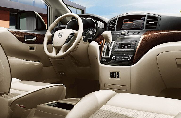 2016 Nissan Quest interior features and technology