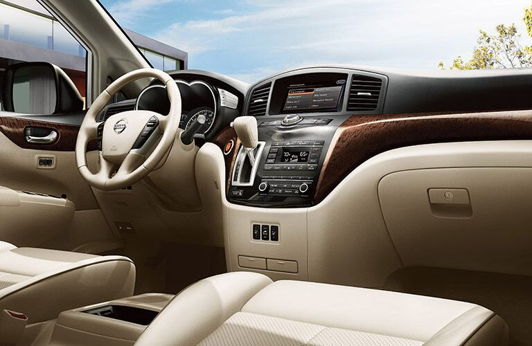 interior layout of nissan quest