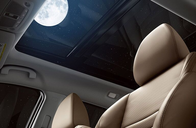 panoramic moon roof in nissan rogue