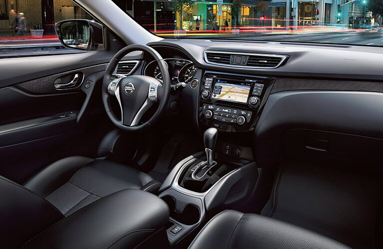 2016 nissan rogue interior technology features and seating