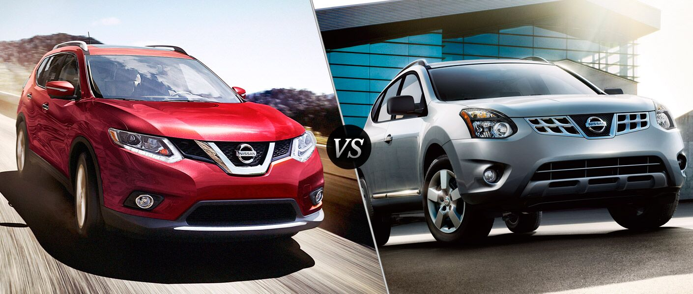 2016 nissan rogue vs 2015 nissan rogue select. Black Bedroom Furniture Sets. Home Design Ideas