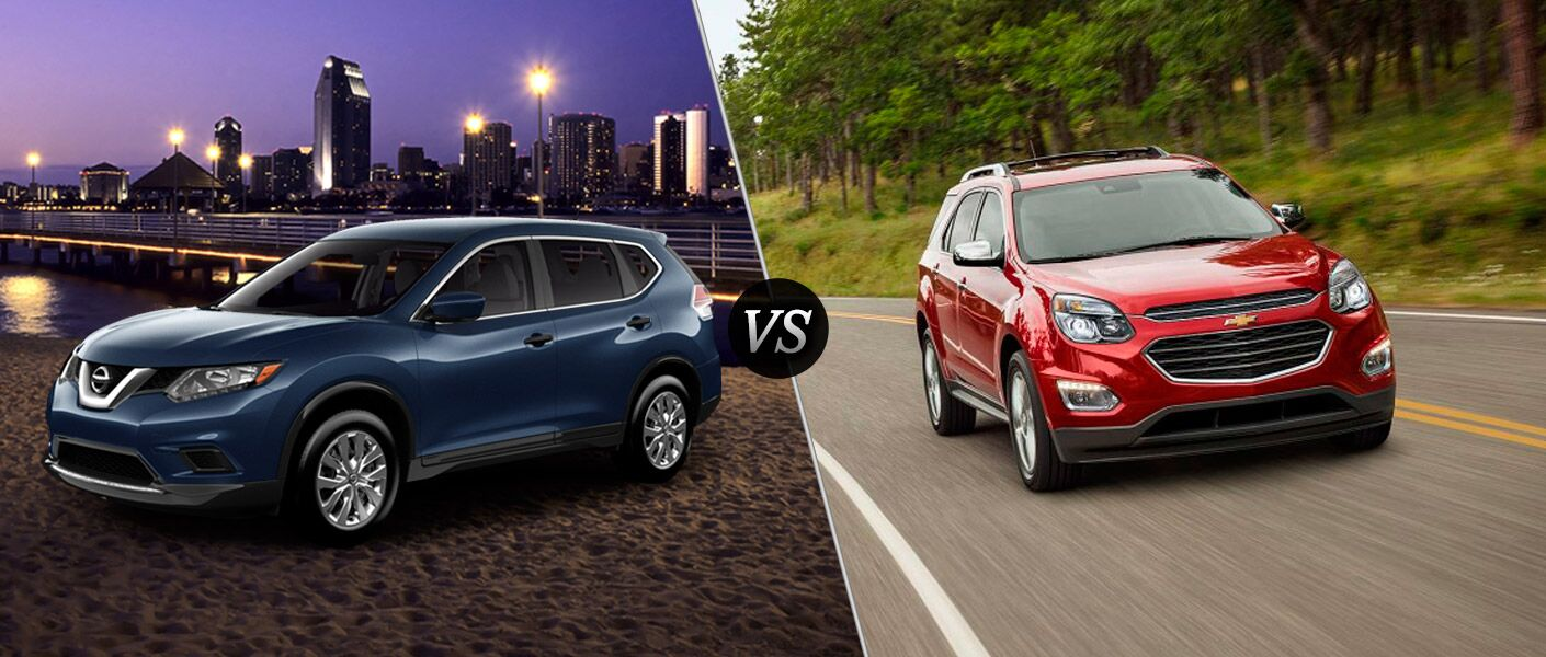 2016 nissan rogue vs 2016 chevy equinox. Black Bedroom Furniture Sets. Home Design Ideas