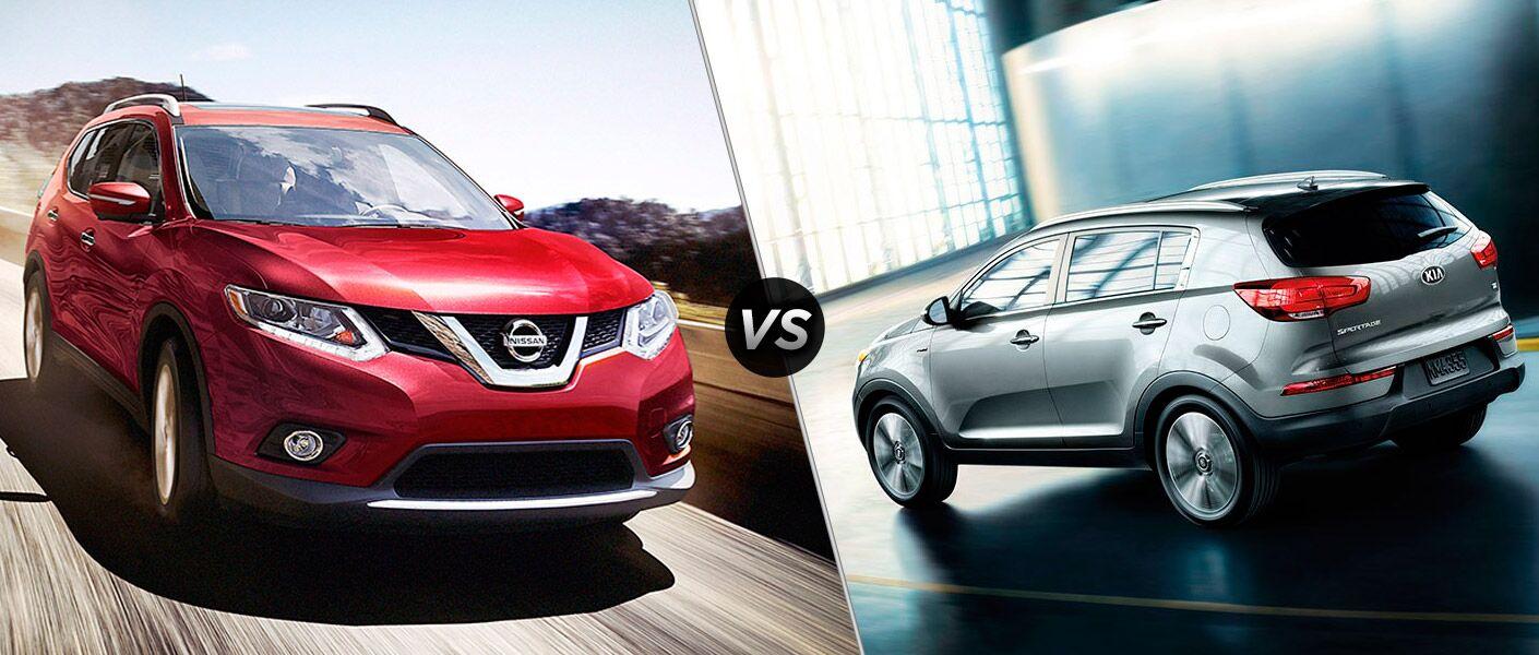 2016 Nissan Rogue vs 2016 Kia Sportage