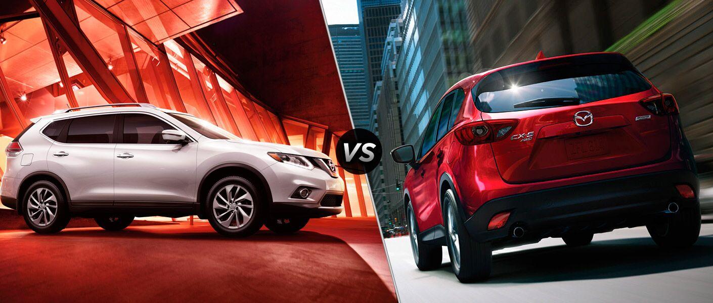 2016 Nissan Rogue vs 2016 Mazda CX-5