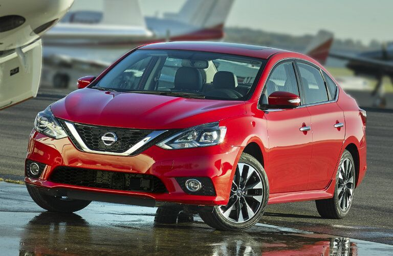 2016 Nissan Sentra exterior redesign and styling