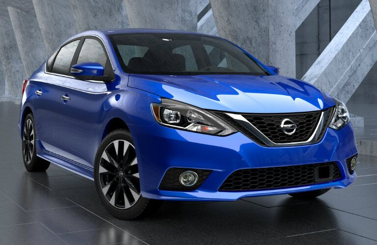 2016 nissan sentra exterior styling front view