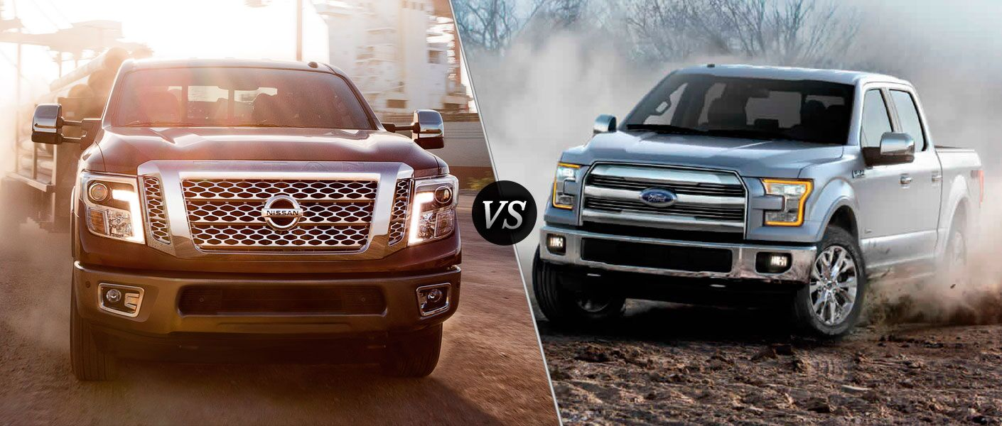 2016 Nissan Titan XD vs 2016 Ford F150