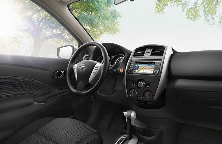 Interior Of The 2016 Nissan Versa