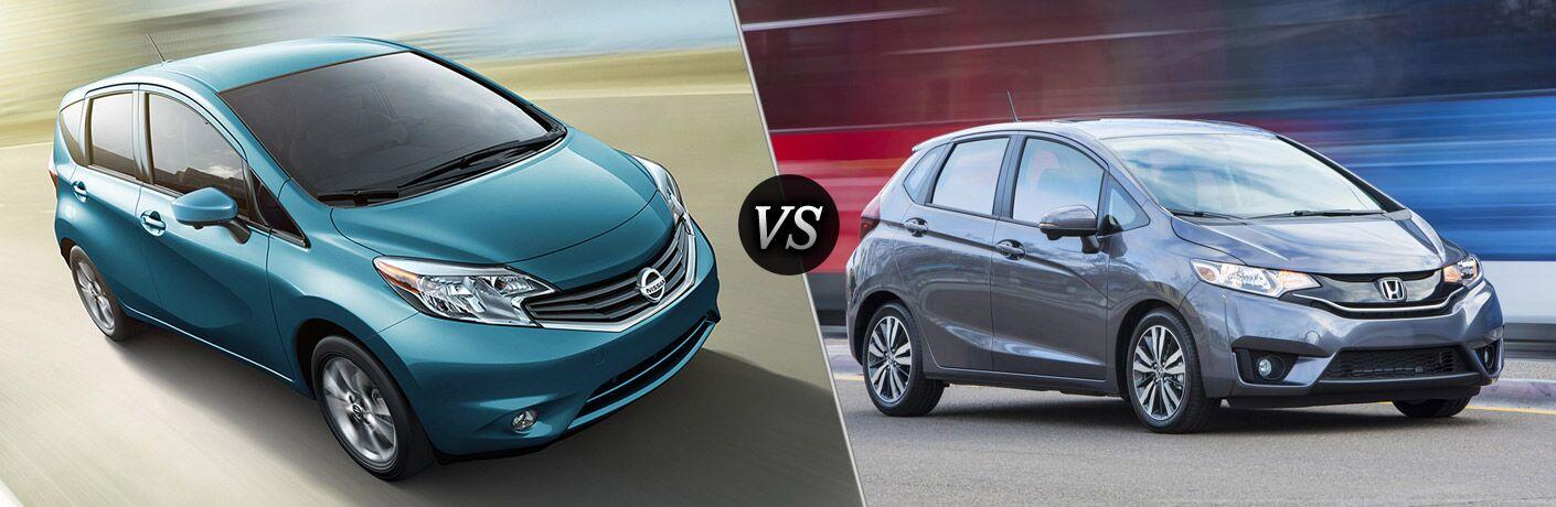 2016 Nissan Versa Note vs 2016 Honda Fit