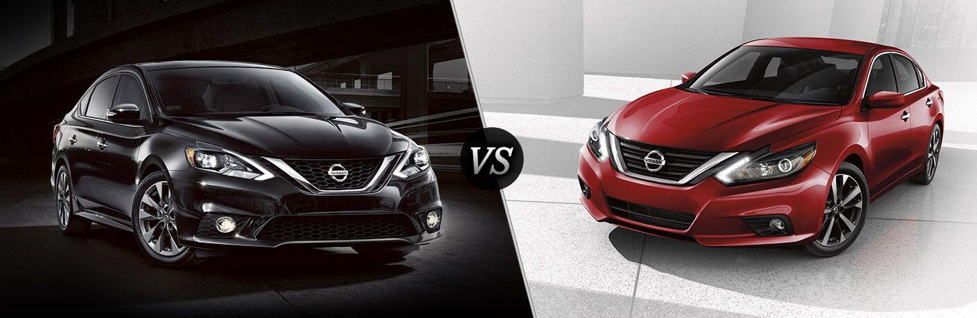 2016 Nissan Sentra vs 2016 Nissan Altima