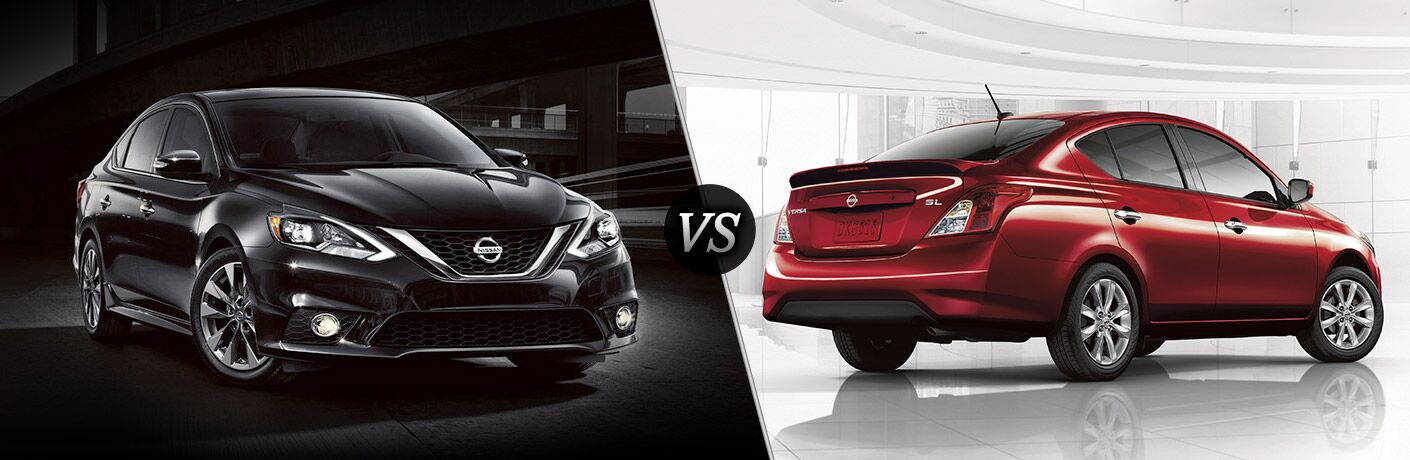 2016 Nissan Sentra vs 2016 Nissan Versa