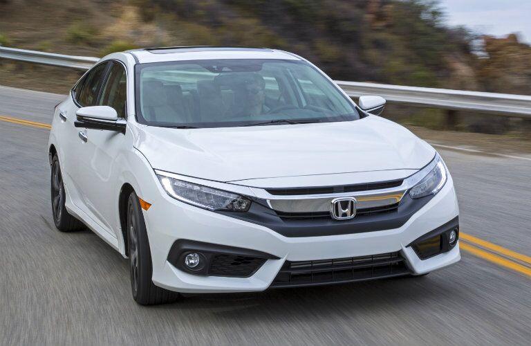 2016 Honda Civic exterior styling