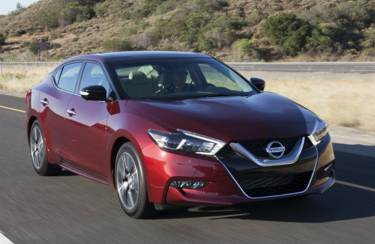 2016 Nissan Maxima design and styling