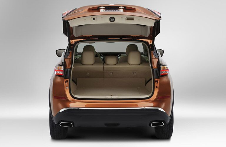 trunk and cargo space of nissan murano