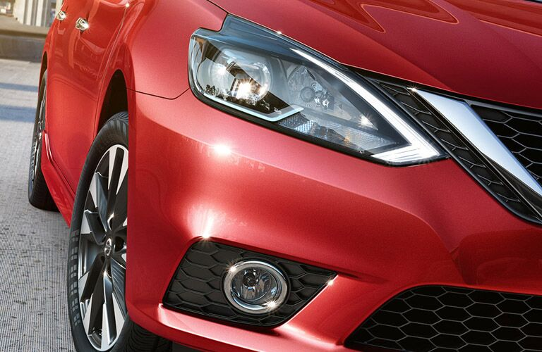 headlights and led lighting of nissan sentra