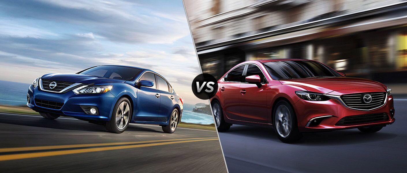 2016 Nissan Altima vs 2016 Mazda 6