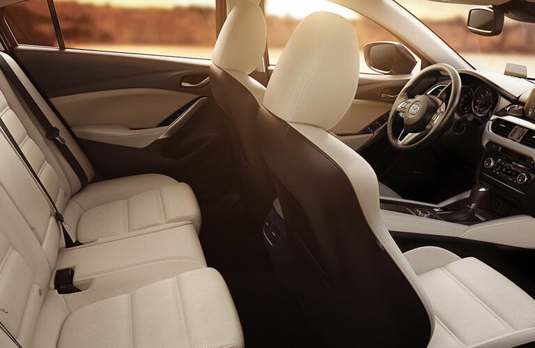 2016 Mazda 6 interior seating and features