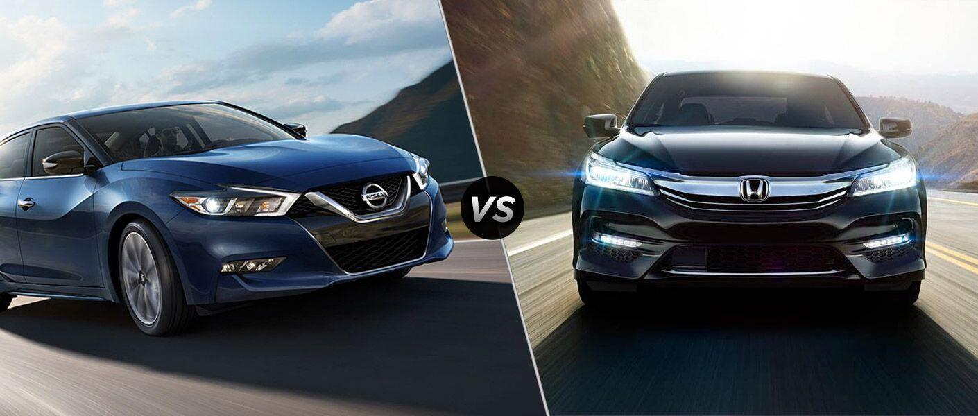 2016 Nissan Maxima vs 2016 Honda Accord