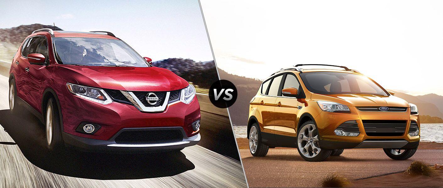 2016 Nissan Rogue vs 2016 Ford Escape