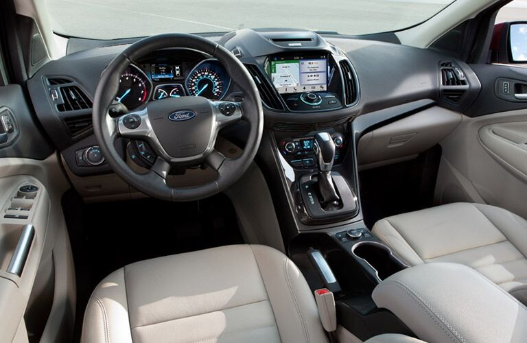 interior of 2016 nissan ford edge