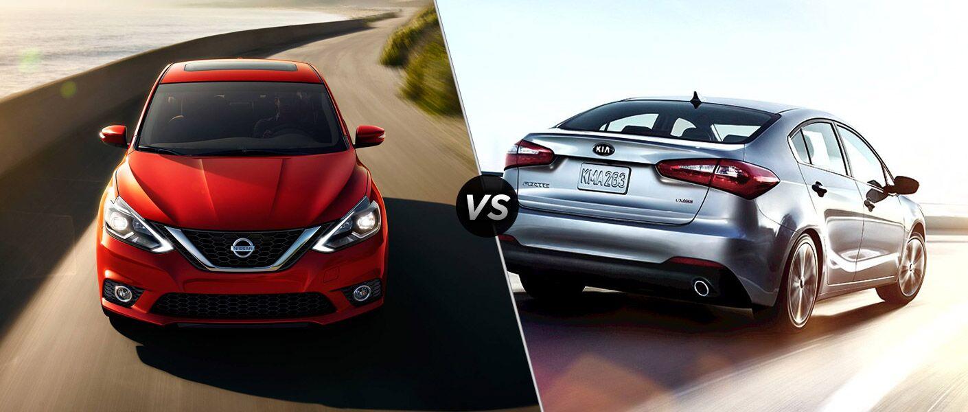 2016 Nissan Sentra vs 2016 Kia Forte