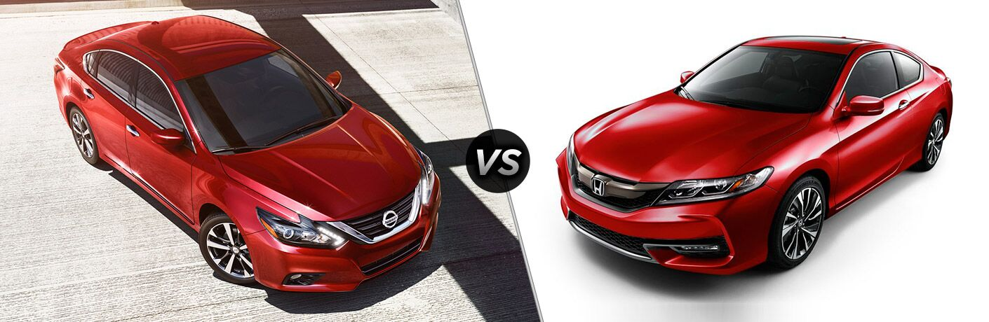 2017 Nissan Altima vs 2017 Honda Accord