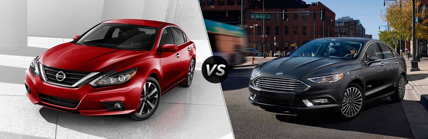 2017 Nissan Altima vs 2017 Ford Fusion