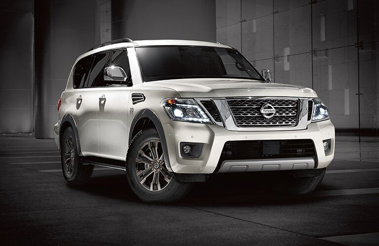 2017 Nissan Armada Front End