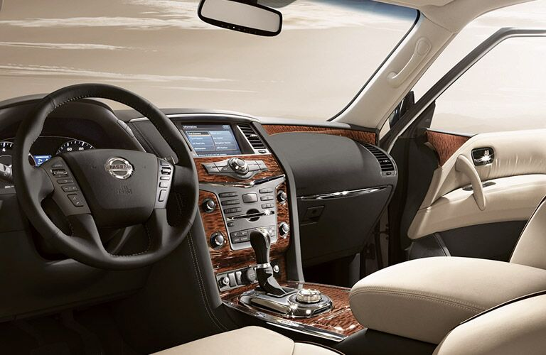 2017 Nissan Armada Wood Grain Interior