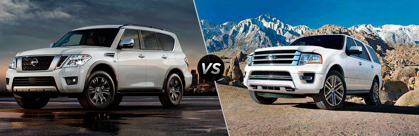 2017 Nissan Armada vs 2017 Ford Expedition
