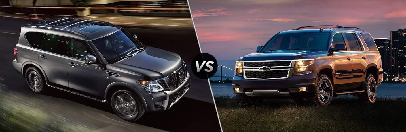 2018 Nissan Armada vs 2017 Chevrolet Tahoe