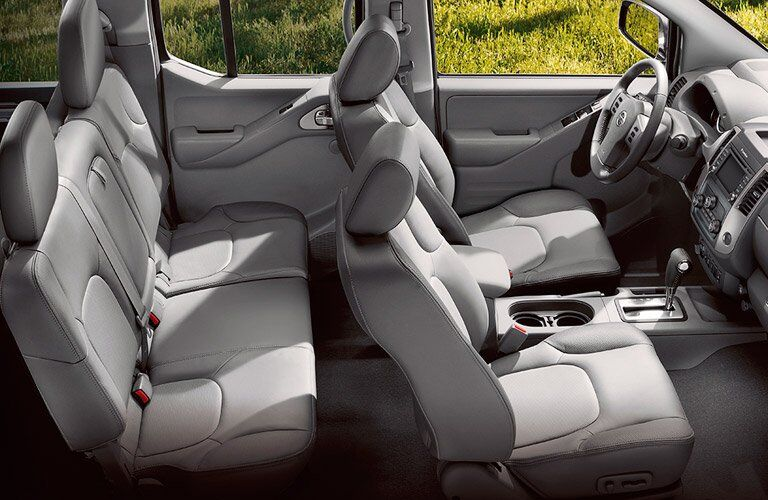 Seating Options 2017 Nissan Frontier Crew Cab
