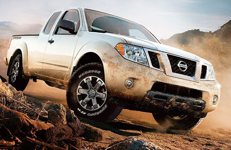 2017 Nissan Frontier Off-Roading