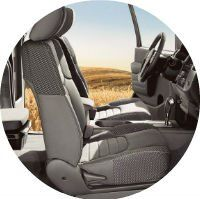 2017 Nissan Frontier Seating