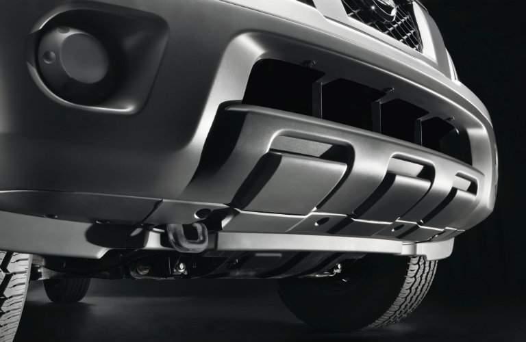 2017 Nissan Frontier S Front Bumper