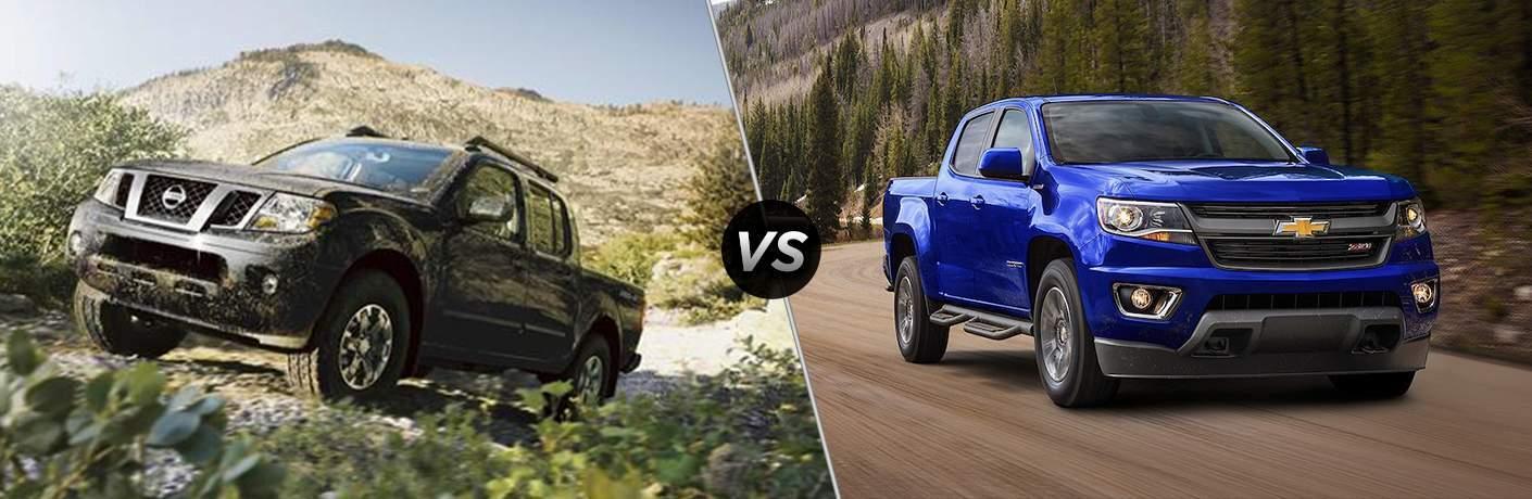 2017 Nissan Frontier vs 2017 Chevrolet Colorado