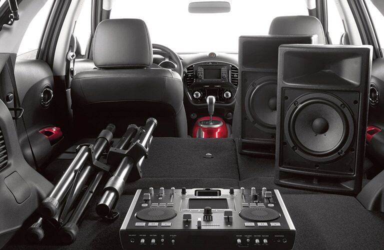 2017 Nissan Juke S Cargo Space