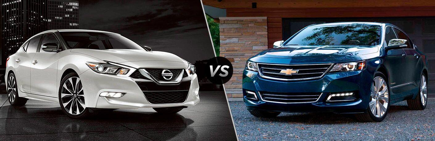 2017 Nissan Maxima vs 2017 Chevy Impala
