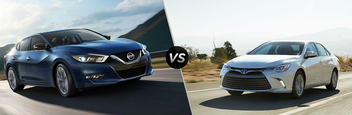 2017 Nissan Maxima vs 2017 Toyota Camry