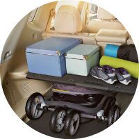 2017 Nissan Rogue Cargo Space