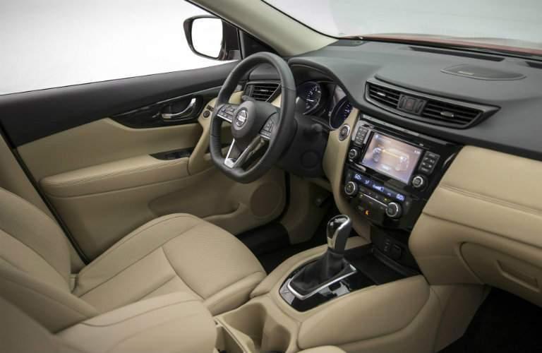 2017 Nissan Rogue Hybrid Dashboard