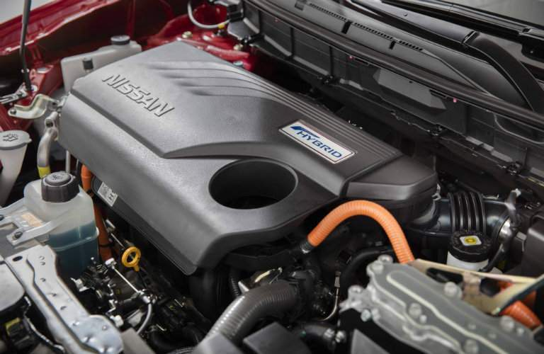 2017 Nissan Rogue Hybrid Engine and Electric Motor