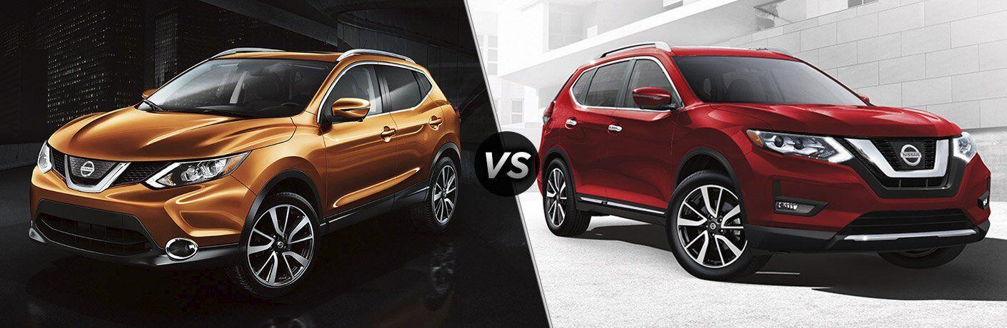2017 Nissan Rogue Sport vs 2017 Nissan Rogue