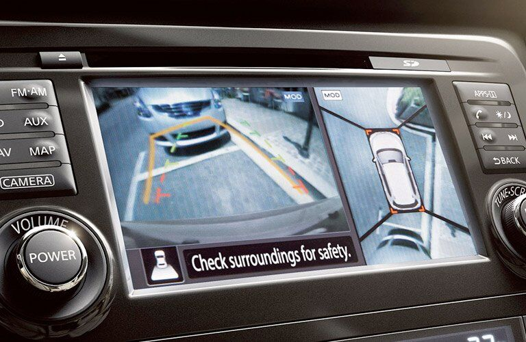 2017 Nissan Rogue Sport Rearview Camera