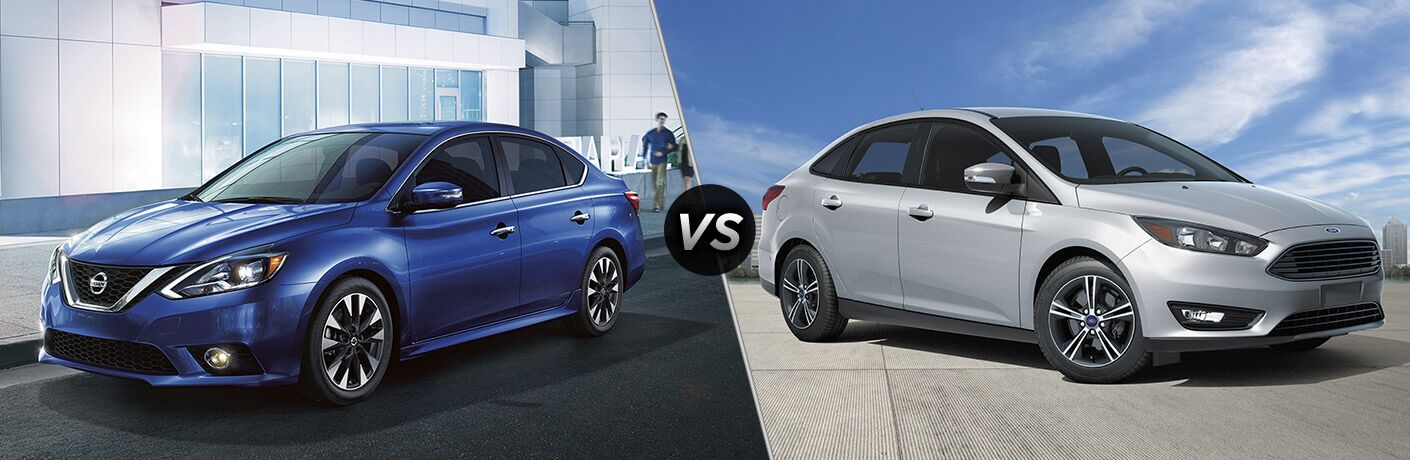 2017 Nissan Sentra vs 2017 Ford Focus