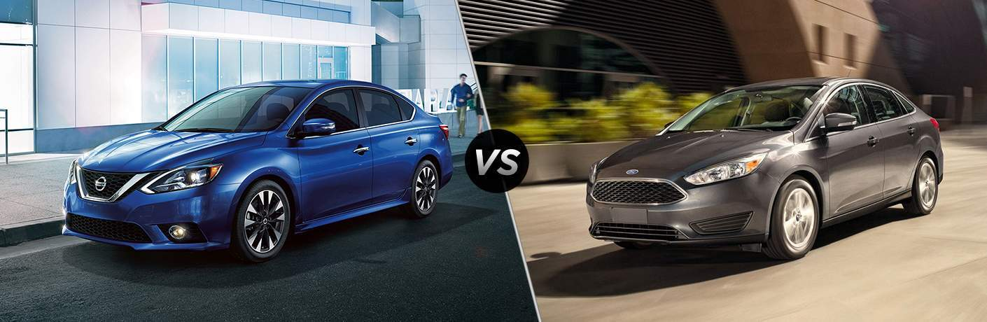 2018 Nissan Sentra vs 2018 Ford Focus