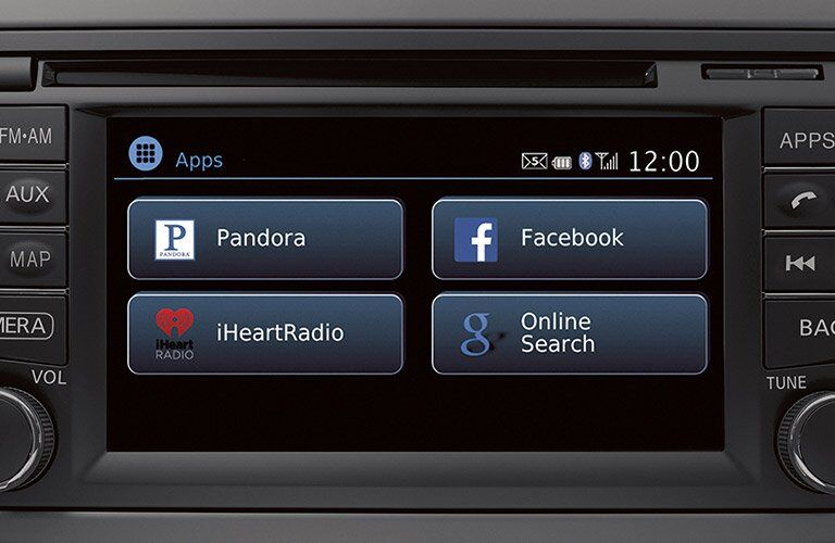 2017 Nissan Versa Optional Infotainment