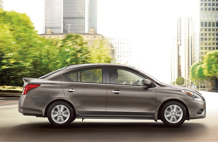 2017 Nissan Versa Design Side Profile